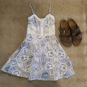 🔴5/$25 Paisley Pattern Dress - Aeropostale, S